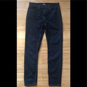 BDG High Rise Twig Ankle Dark Denim Jeans Size 30